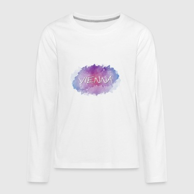 Vienna - Kids' Premium Long Sleeve T-Shirt