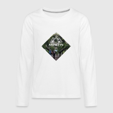 Diamond_MOWTIN_Logo - Kids' Premium Long Sleeve T-Shirt
