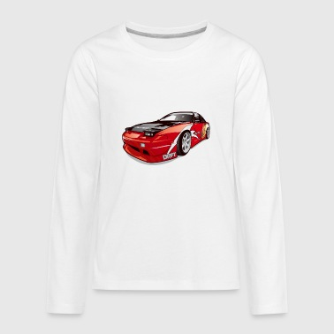 cars drift - Kids' Premium Long Sleeve T-Shirt