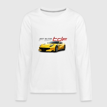 ferrari f12 tdf - Kids' Premium Long Sleeve T-Shirt