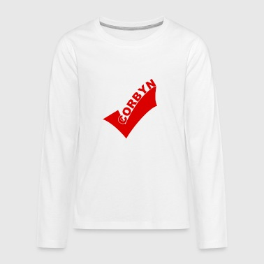 corbyn Right - Kids' Premium Long Sleeve T-Shirt