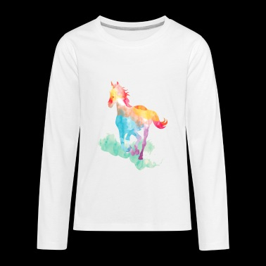 horse 3 - Kids' Premium Long Sleeve T-Shirt