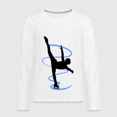 Figure skating and ice figure dance is an artistry - Kids' Premium Long Sleeve T-Shirt
