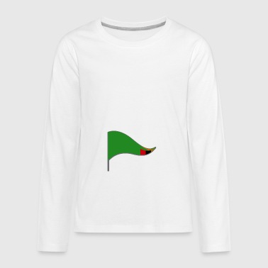 Zambia Flag Banner Flags Ensigns Africa - Kids' Premium Long Sleeve T-Shirt