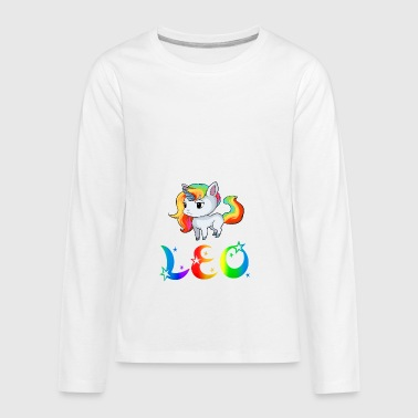Leo Unicorn - Kids' Premium Long Sleeve T-Shirt