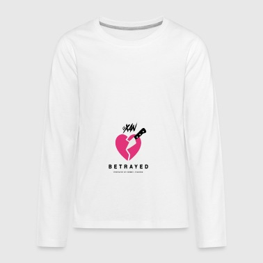 Lil Xan Betrayed - Kids' Premium Long Sleeve T-Shirt