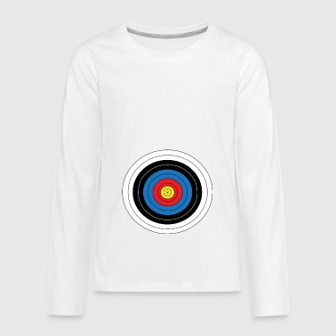 archery arrow bow crossbow target sports21 - Kids' Premium Long Sleeve T-Shirt