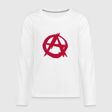 Anarchy anarchist punk - Kids' Premium Long Sleeve T-Shirt