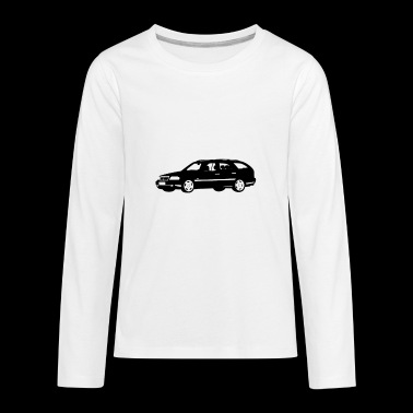 Mercedes Benz S202 - Kids' Premium Long Sleeve T-Shirt