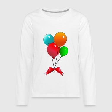 Balloons - Kids' Premium Long Sleeve T-Shirt