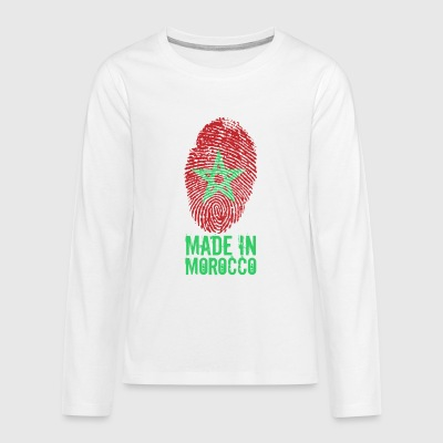 Made in Morocco / المغرب - Kids' Premium Long Sleeve T-Shirt
