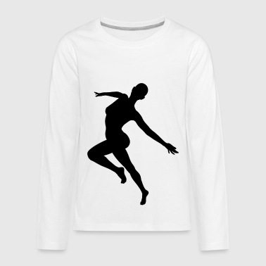 dancer taenzer tanz tanzen dancing ballet - Kids' Premium Long Sleeve T-Shirt