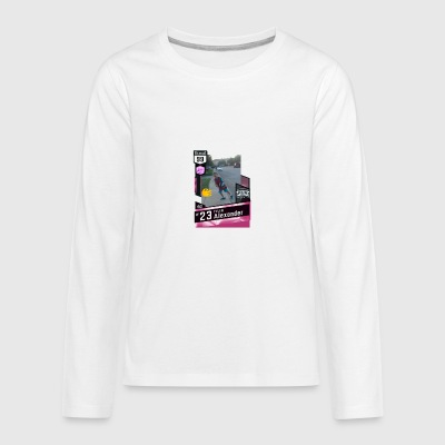 Tyler Deep Shooter - Kids' Premium Long Sleeve T-Shirt
