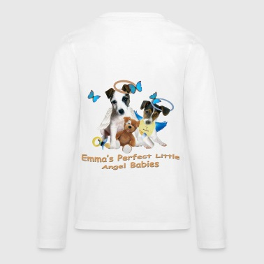 Emma's Jack Russell Angel Babies  - Kids' Premium Long Sleeve T-Shirt