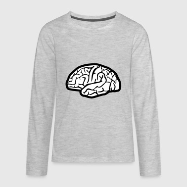 Brain, brains - Kids' Premium Long Sleeve T-Shirt