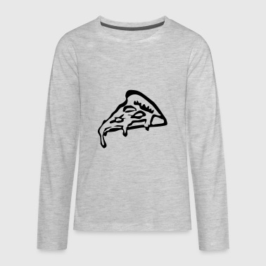 Pizza - Kids' Premium Long Sleeve T-Shirt