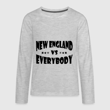 New England Sports New England Vs Everybody - Kids' Premium Long Sleeve T-Shirt