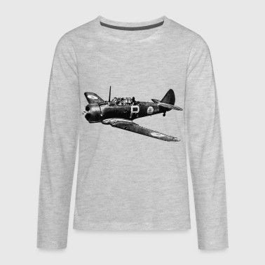 Cac CAC Wirraway - Kids' Premium Long Sleeve T-Shirt
