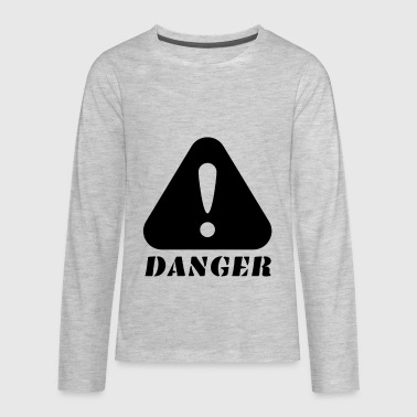 Danger - Kids' Premium Long Sleeve T-Shirt
