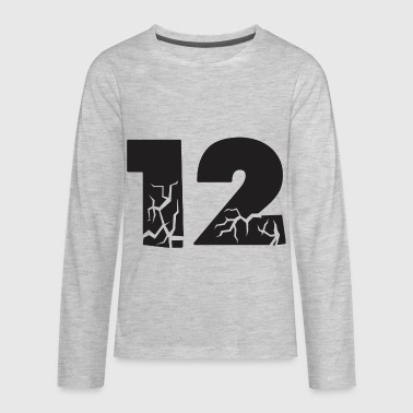 twelve cracks - Kids' Premium Long Sleeve T-Shirt
