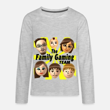 The Family Gaming Team FGTEEV The Family Gaming Team  - Kids' Premium Long Sleeve T-Shirt