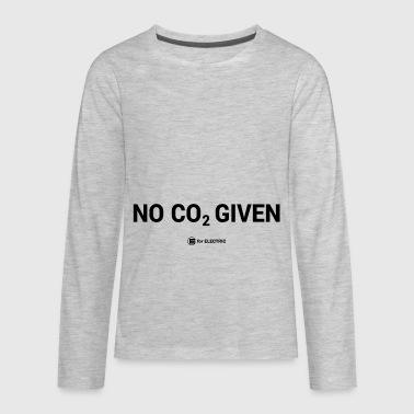 No CO2 Given - Kids' Premium Long Sleeve T-Shirt