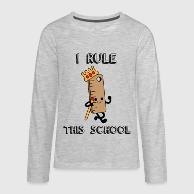 Back To School Back to School - Kids' Premium Long Sleeve T-Shirt