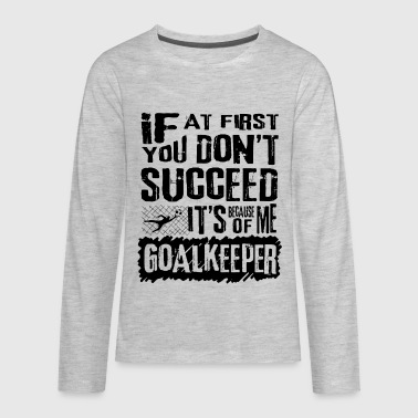 Soccer Goalkeeper - Kids' Premium Long Sleeve T-Shirt