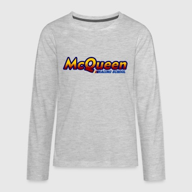 mcqueen racing school - Kids' Premium Long Sleeve T-Shirt