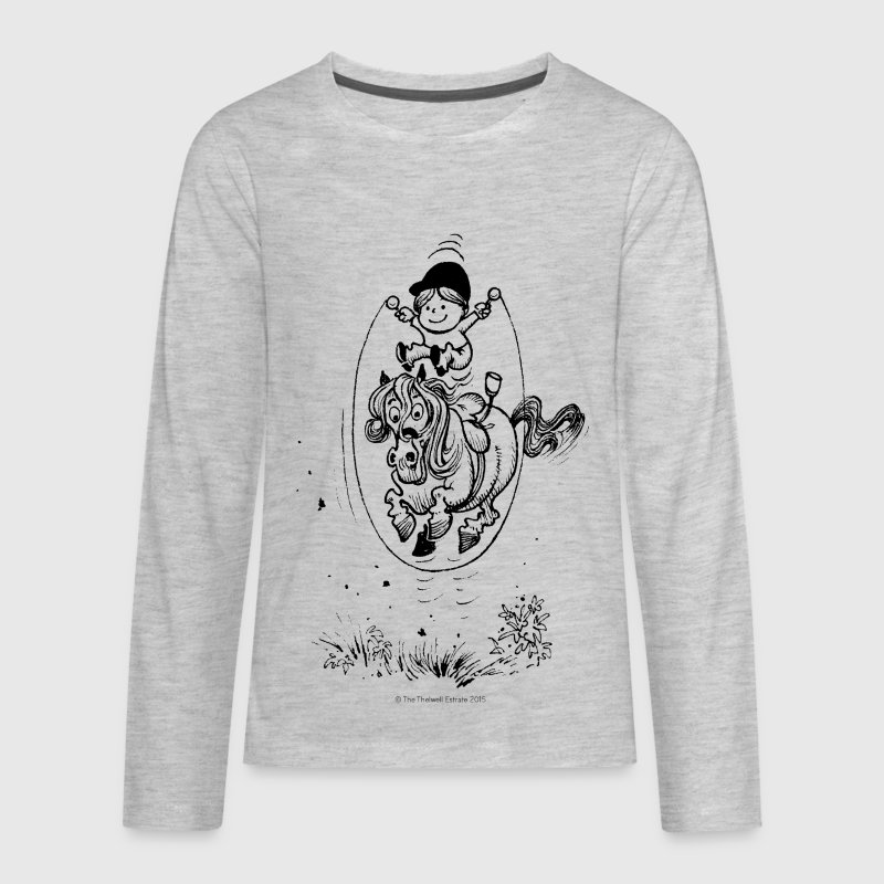 Thelwell Skipping Rope - Kids' Premium Long Sleeve T-Shirt