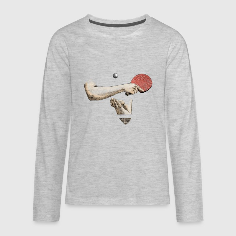 Ping-pong - Kids' Premium Long Sleeve T-Shirt