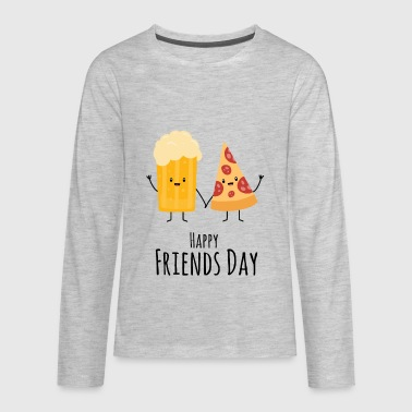 Celebrate Happy Friends Day! - Kids' Premium Long Sleeve T-Shirt