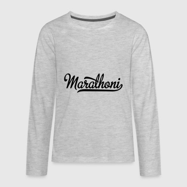 marathon - Kids' Premium Long Sleeve T-Shirt