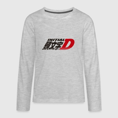 DSM17 053 initial D - Kids' Premium Long Sleeve T-Shirt