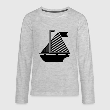 Boat - Kids' Premium Long Sleeve T-Shirt