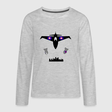 jet fighter - Kids' Premium Long Sleeve T-Shirt