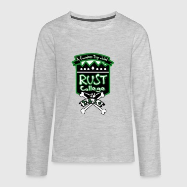 RCFDW17green - Kids' Premium Long Sleeve T-Shirt