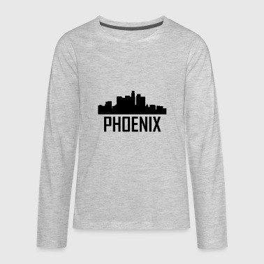 Phoenix Arizona City Skyline - Kids' Premium Long Sleeve T-Shirt