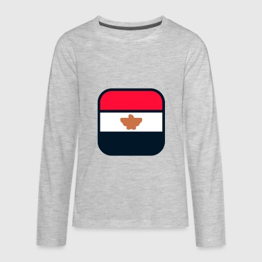 Buddhist Flag egypt flag - Kids' Premium Long Sleeve T-Shirt
