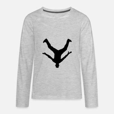 Breakdancing Breakdancer, Breakdance - Kids' Premium Long Sleeve T-Shirt