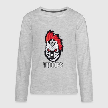 TROOPS - Kids' Premium Long Sleeve T-Shirt