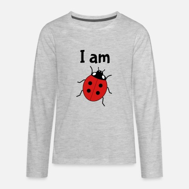 Ladybug I am four - 4th birthday - Kids' Premium Long Sleeve T-Shirt