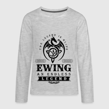 EWING - Kids' Premium Long Sleeve T-Shirt