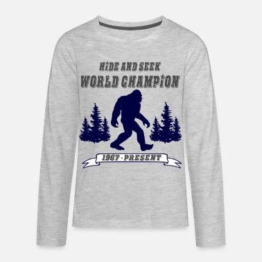 c34d66a1 Hide & Seek World Champion Kids' Premium T-Shirt   Spreadshirt