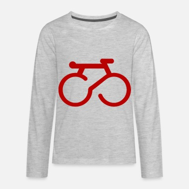 bike small red - Kids' Premium Long Sleeve T-Shirt