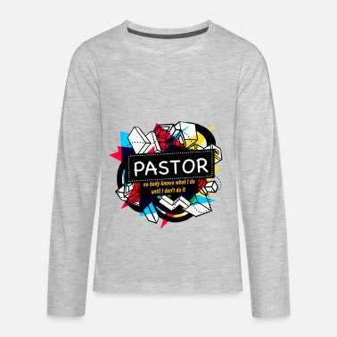 Pastor PASTOR - Kids' Premium Long Sleeve T-Shirt