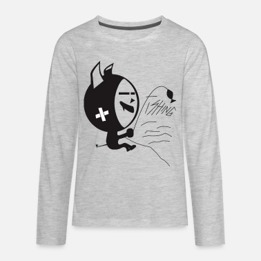 Fishing For Kids FISHING - Kids' Premium Longsleeve Shirt