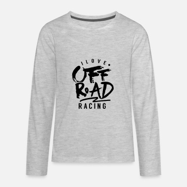 Car Offroad Racing - Kids' Premium Longsleeve Shirt