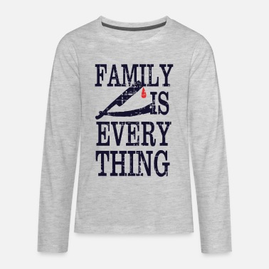 Hilarious Family Is Everything - Kids' Premium Longsleeve Shirt