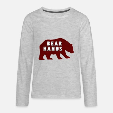 Bear Hands - Kids' Premium Longsleeve Shirt